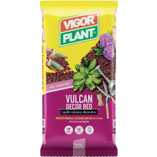 Vulkanski kamenčići (lapili) VULCAN DECOR RED 20/1
