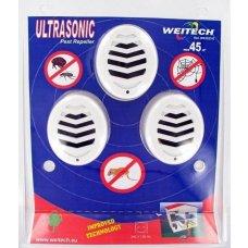 Ultrazvučni rastjerivač štetočina WK3523 (trostruko pakiranje)