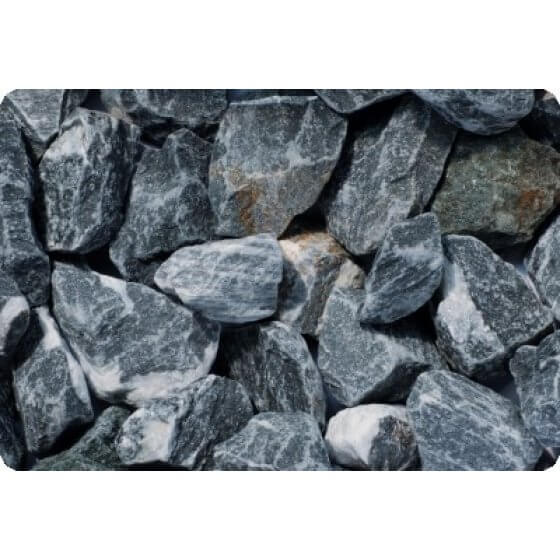 Kamen ukrasni lomljeni DUNAVSKO PLAVI (mramor)