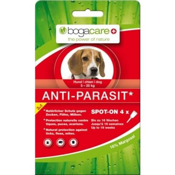 ANTIPARAZITSKE AMPULE za pse medium BOGACARE- 1 ampula