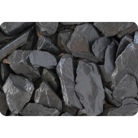 Ukrasni kamen ŠKRILJEVAC pločice, grafit-crni