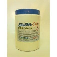 Sredstvo za dezinfekciju IVAPOOL Multitab tablete 1 kg