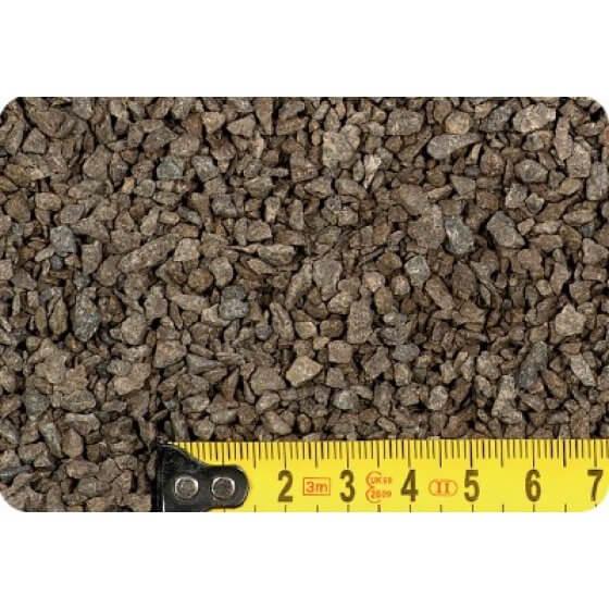 Kamen ukrasni lomljeni BAZALT CRNI (grit) 2-4 mm