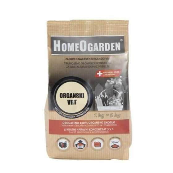 HOMEOGARDEN - ORGANSKO GNOJIVO 4 kg (organski vrt)