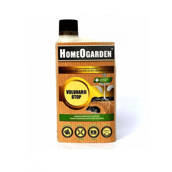 HOMEOGARDEN voluharice stop 750 ml