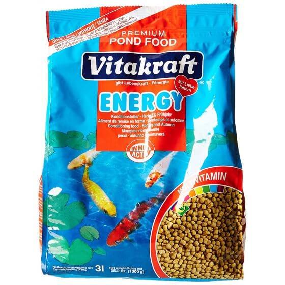VITAKRAFT ENERGY 3 L potpuna hrana za ribe u ribnjaku