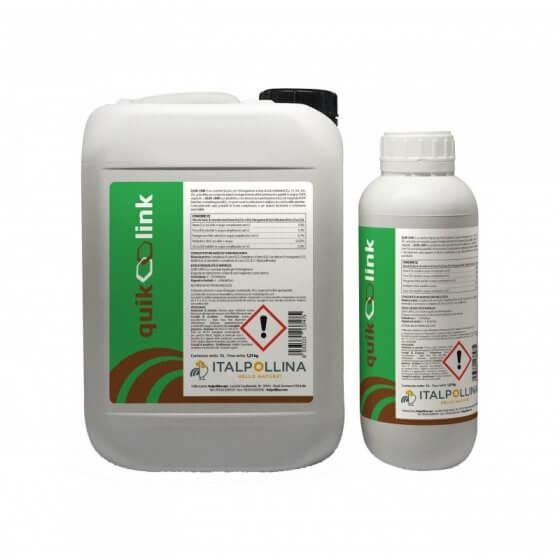 QUIK-LINK biostimulator, tekući biostimulant s mikrohranjivima, 1 litar