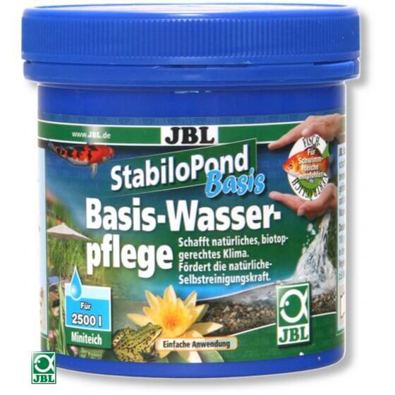 JBL StabiloPond Basis sredstvo za kondicioniranje vode u ribnjacima 250 g