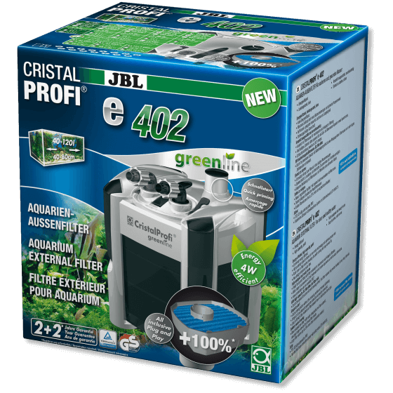 JBL CRISTALPROFI E 402 vanjski filter za akvarije
