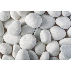 Kamen ukrasni oblutak OBLAČNO-BIJELI 25 kg (mramor)