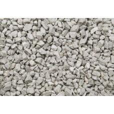 Lomljeni mramor, ukrasni kamen, srebrno sivi 8-12 mm