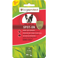 BOGAPROTECT SPOT-ON DOG S 4-10 kg antiparazitske ampule
