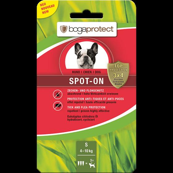 BOGAPROTECT  SPOT-ON DOG S 4-10 kg antiparazitske ampule