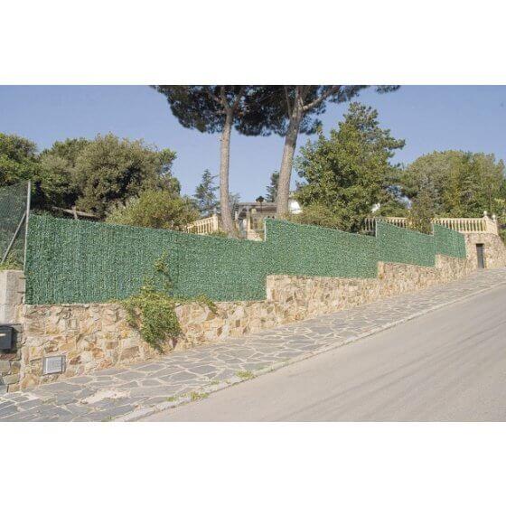 Zasjena - imitacija živice 1,5x3 m Greenwich, zelena
